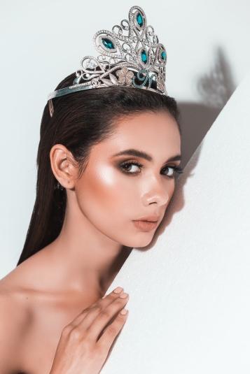 A Inés le tocó empoderarse a sí misma durante Miss Universo. (Fotografía oficial: Manuel Matus )