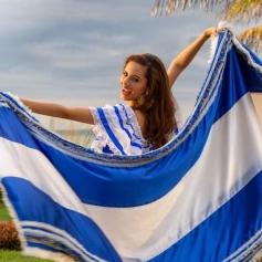 Inés es una joven muy segura de sí misma que ama su país. (Foto Cortesía)
