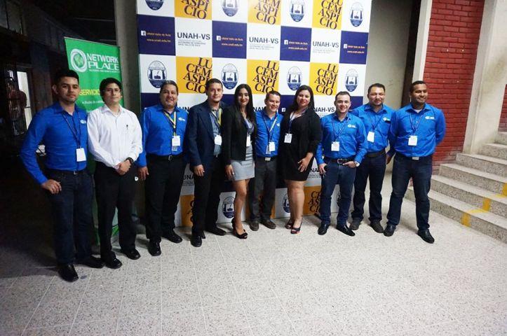 Equipo Academias Cisco UNAH